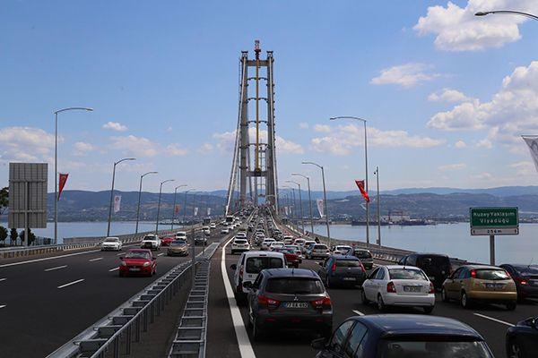 Osmangazi'den 5 günde bakın kaç araç geçti