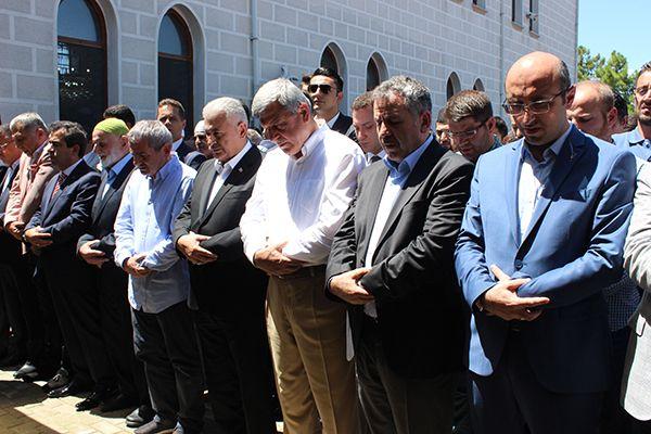 Başbakan Yıldırım, Maksut Serim'i acı gününde yalnız bırakmadı
