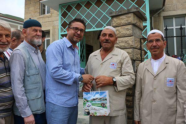 Kandıra'nın hacı adayları yola çıktı
