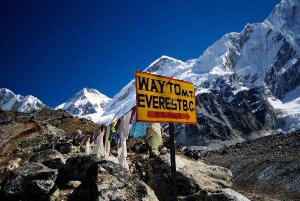 Dağcılar Everest'e gidiyor