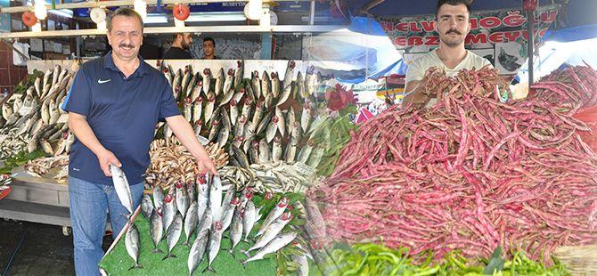 Sebze, balıkbol ve ucuz