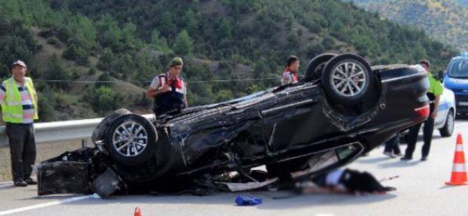 Kastamonu yolunda feci kaza! 1 Ölü, 3 Yaralı