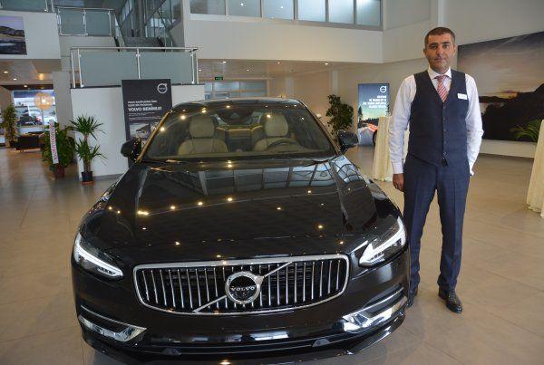 Yeni Volvo S90Akgünler Otomotiv'de tanıtıldı