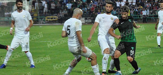 Kocaelispor çok istedi alamadı: 0-0