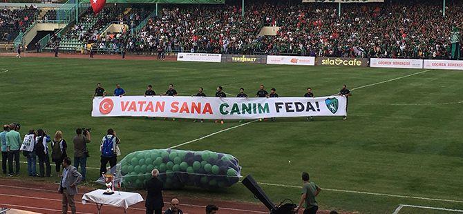 Kocaelispor'dan anlamlı mesaj