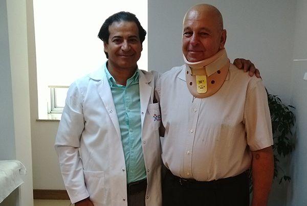 Romen hasta, Cihan'daameliyat oldu, şifa buldu