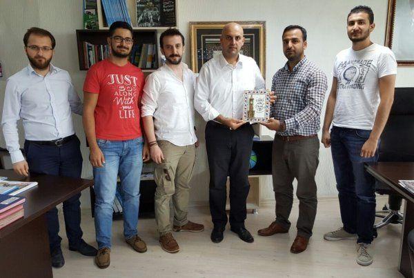 Başkan Yardımcısı Oruç, genç girişimcileri ağırladı