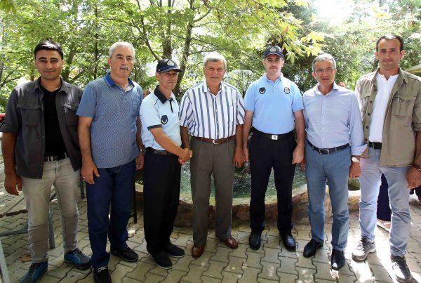 Başkan Karaosmanoğlu'ndan zabıtaya tebrik