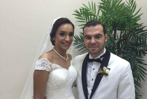 İlayda ve İlbars evlendi