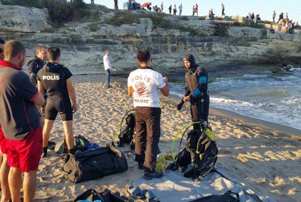 Kandıra'da denizde kaybolan iki kişi aranıyor