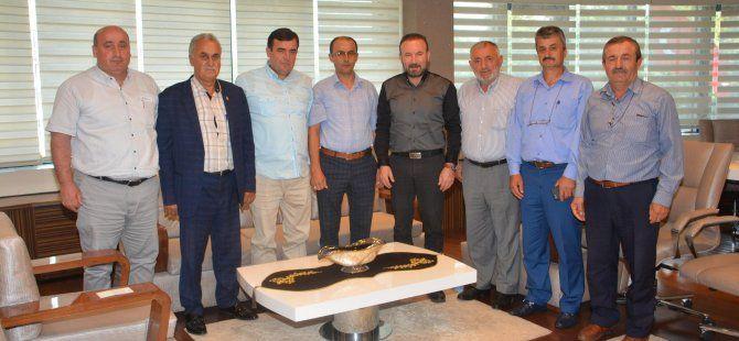 Başkan Doğan, köy muhtarlarını misafir etti