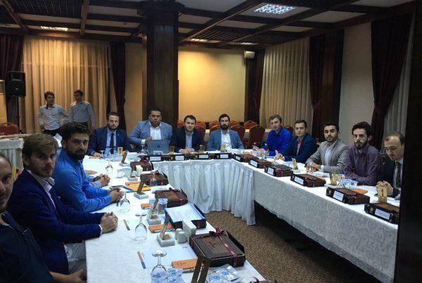 AK Parti Gençlik Kolları toplantısıyapıldı