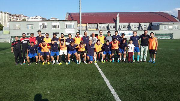 Yenidoğanspor, hazırlık maçında Halıderespor'u 3-2 mağlup etti