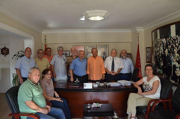 Erbakan Vakfı'ndan CHP'ye ziyaret