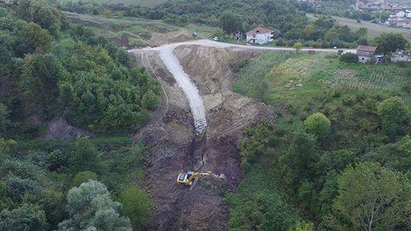 Başiskele'de toprak kaymasına kesin çözüm
