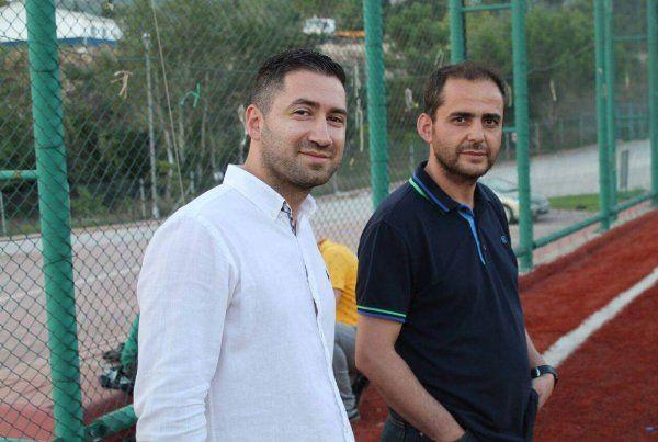 Tavşantepe'de Başkan Karayel genç futbolculardan çok umutlu