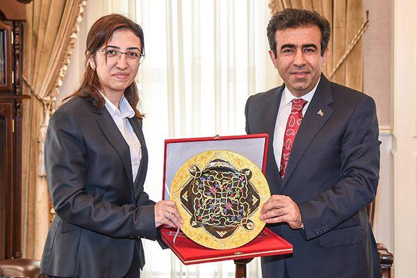 Yalova Valisi'nden Güzeloğlu'na ziyaret