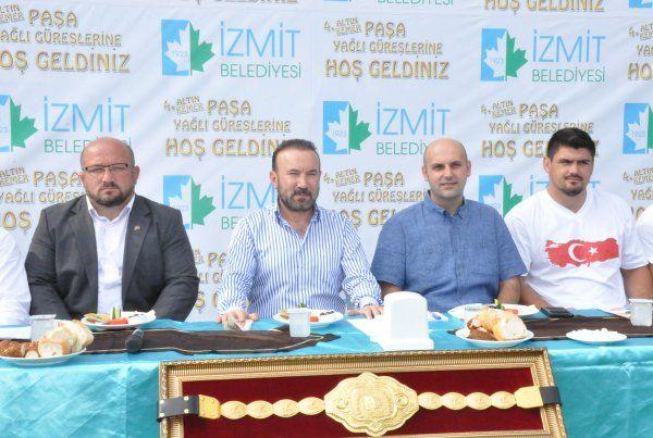 """Başkan Doğan'dan """"Paşa Güreşleri"""" için davet var"""