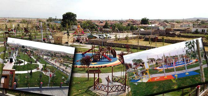 Büyükşehir, Halisdemir'in memleketinde park yaptı