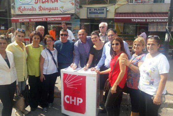 Derince'ye CHP standı