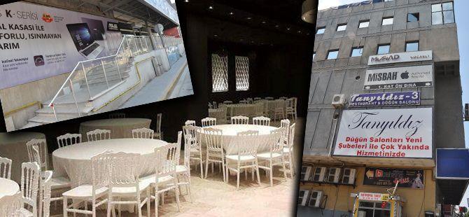 Electro World'ünyerine düğün salonu