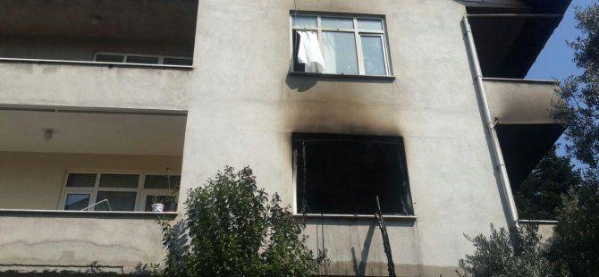 Yangında ağır yaralanan kadın öldü