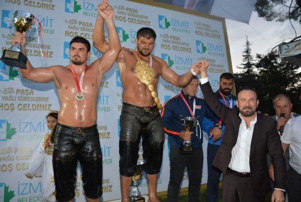 4. Altın Kemer Paşa Yağlı Güreşleri başpehlivanı Şaban Yılmaz