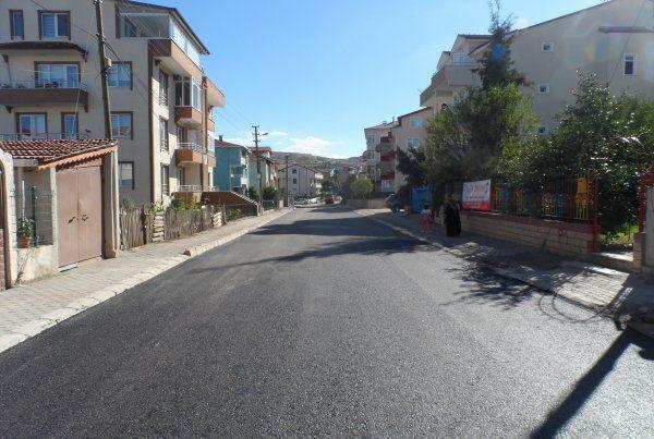 İzmit Belediyesi, Biberiye sokakta asfalt çalışması yaptı