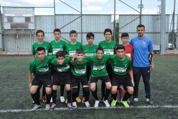 Akademi Ligi'nde 15maçın 2'sini kazanabildik