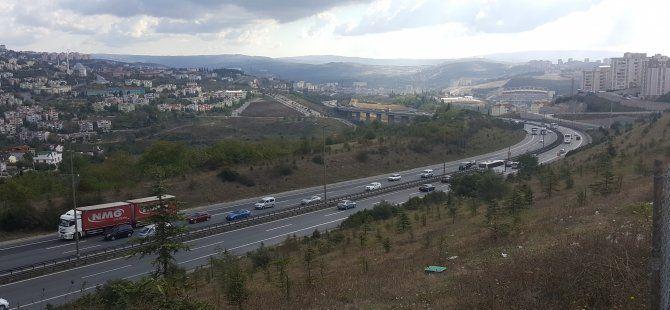 TEM'de trafik yoğunluğu azaldı