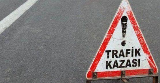 Latif Hürtürk kaza geçirdi