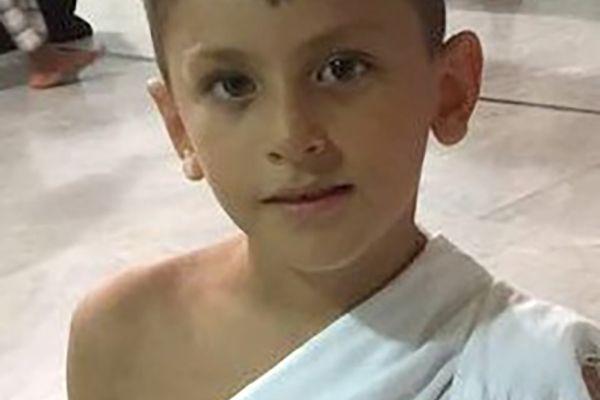 7 yaşında Hacı oldu