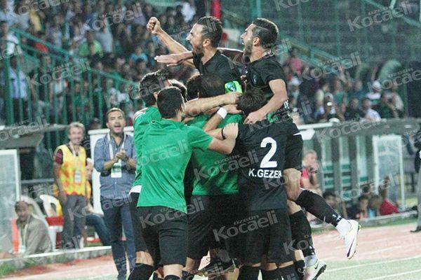 Kocaelispor 3 - 0 Cizrespor