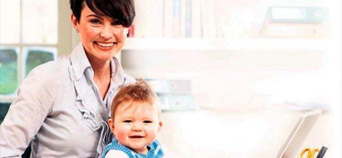 Çalışan annelere katkı
