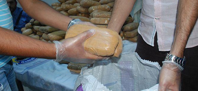 Kocaeli polisi 6.5 milyon TL'lik eroini buldu