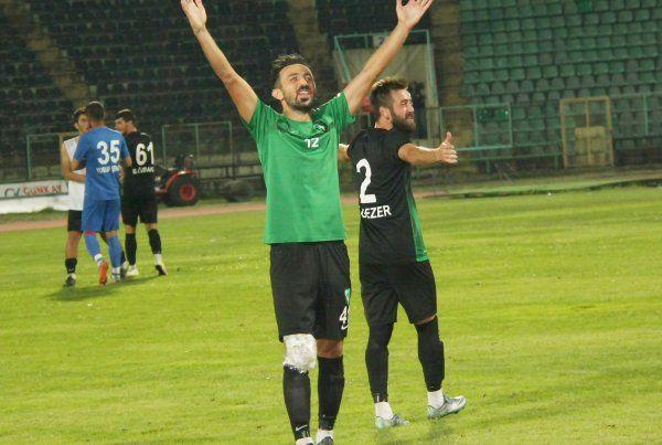 Hakem golü Hamza'ya yazdı
