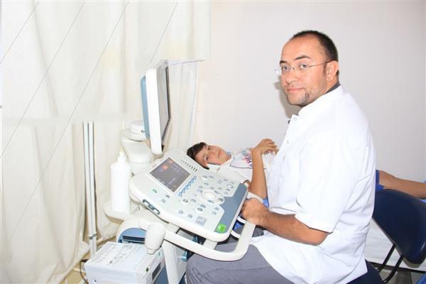 Merkez Semt Polikliniği'nde ultrason hizmeti başladı