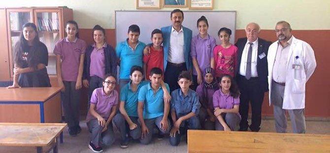 AK Partili Yılmaz eğitim zilini çaldı