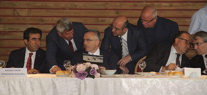 Başkanlar, Bakan Ağbal'a dosya sundu