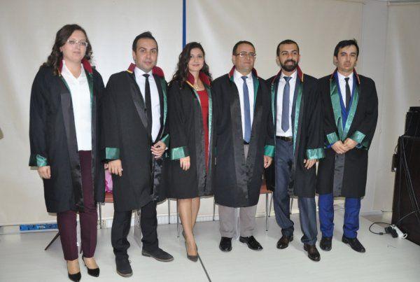 Kocaeli Barosu'na 5 yeni avukat