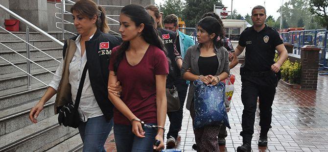3 PKK'lı zanlıya tutuklama