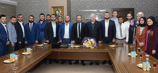 Başkan Doğan, AK Parti İzmit Gençlik Kollarını ağırladı