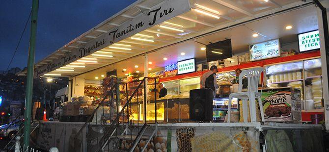 Kentimizden Trabzon Kültür TIR'ı geçti