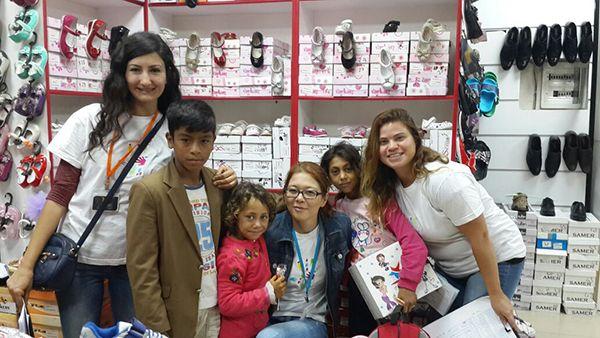 Çocuk Gönüllüleri, 36 öğrenciyi giydirdi