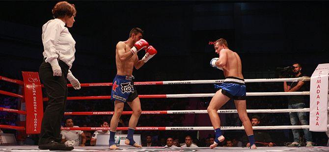 Mix Fight Kick Boks Dostluk Turnuvası ilimizde yapıldı