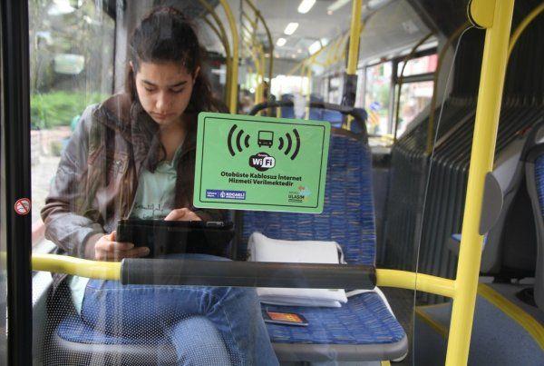 Büyükşehir ücretsiz internet rağbet görüyor