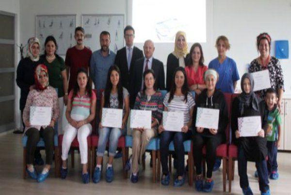 Doğuma Hazırlık Sınıfı14'üncü dönem mezunları
