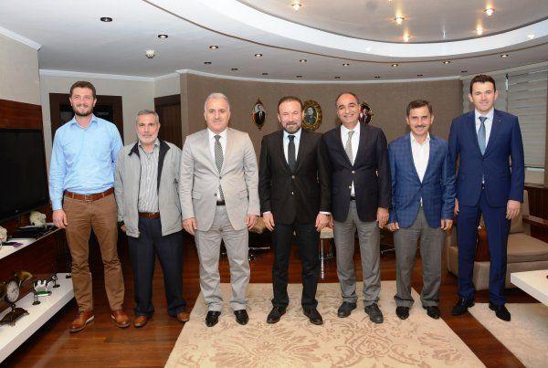 Başkan Doğan, Kocaeli Kuyumcular Derneği'ni ağırladı
