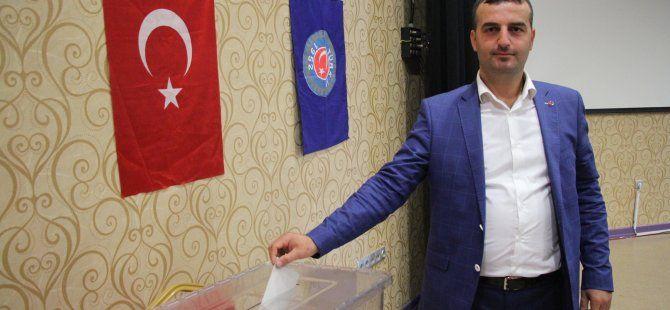 Ağaç-İş Kartepe'de CengizTürker seçilmiş başkan oldu