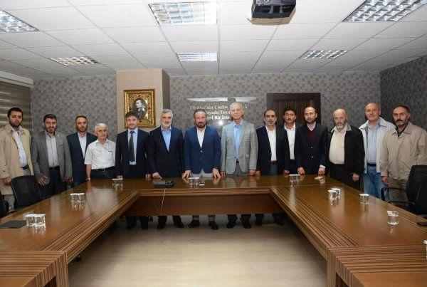 Başkan Doğan, STK'ları makamında ağırladı